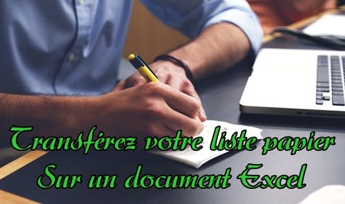 Liste-de-prospects-en-papier-vers-document-Excel-compressor